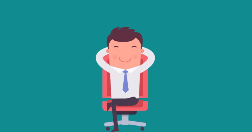 empresário cadeira escritório abrir empresa